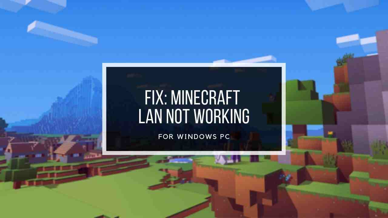 minecraft-lan-not-working