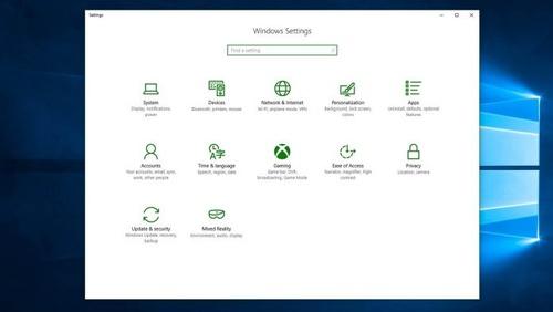settings-on-windows