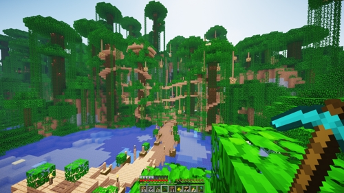 minecraft-jungle