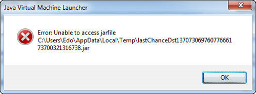 unable-toaccess-jarfile
