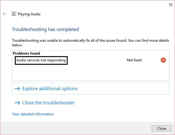 audio-service-not-responding