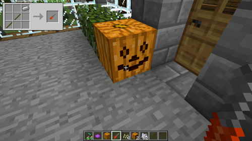 make-jack-olantern-in-minecraft