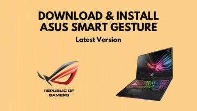 download-asus-smart-gesture