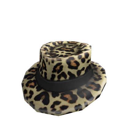 leoperd-fedora-hat