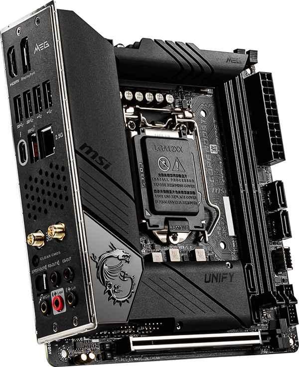 msi-meg-z490i-unify-gaming-motherboard