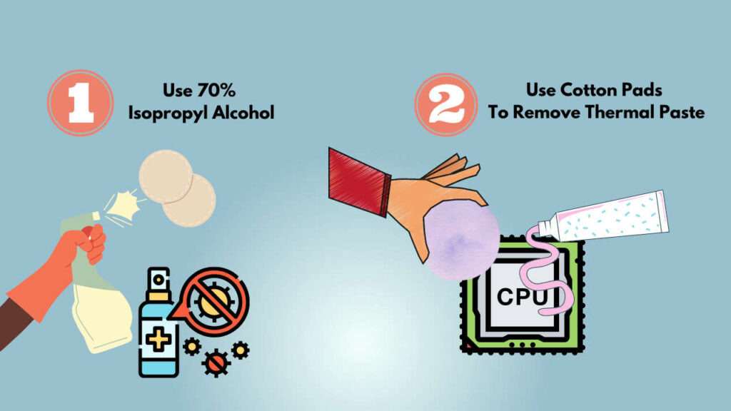 apply-isopropyl-alcohol-to-remove-thermal-paste-of-cpu-pins