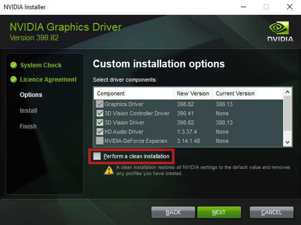 clean-install-gpu-driver