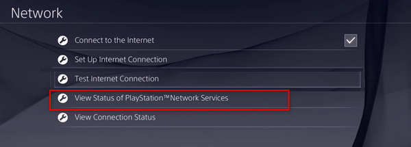 view-playstation-network-status