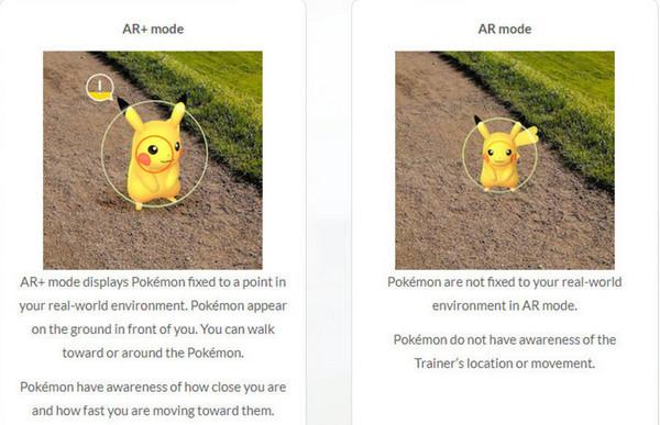 ar-mode-vs-ar-plus-mode-pokemon-go