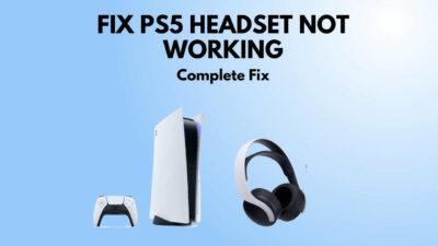 fix-ps5-wireless--headset-not-working