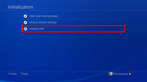 initialize-ps4