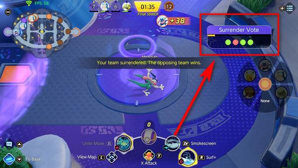 team-surrender-vote-pokemon-unite