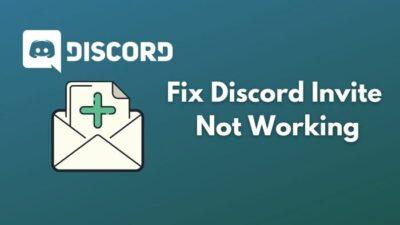 fix-discord-invite-not-working