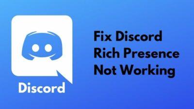 fix-discord-rich-presence-not-working